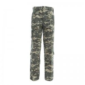 Grey ACU military tactical uniform