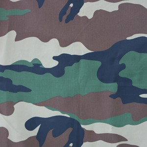 China manufacturer printing fabric camouflage fabric