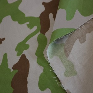 China supplie printing camouflage fabric for military uniform