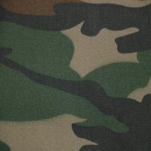 Woodland camouflage fabric polyester cotton fabric