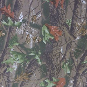 Cotton twill hunting camouflage fabric