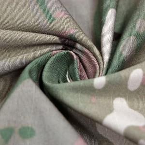 Nylon cotton multicam fabric