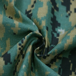 China product Polyester cotton camouflage fabric