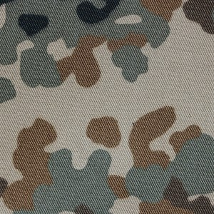 Cheap textile camouflage fabric for twill fabric