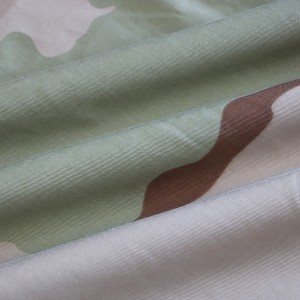 Outdoor training printing camouflage fabric for army uniforms