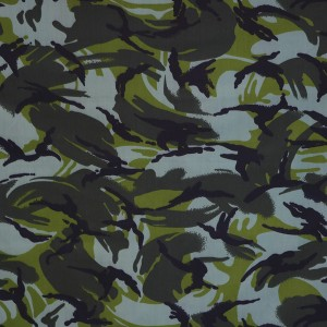 Low price polyester cotton twill military camouflage fabric