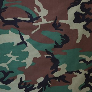 China supplierTextile polyester cotton military camouflage fabric