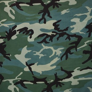 CVC 50/50 camouflage fabric for military uniform