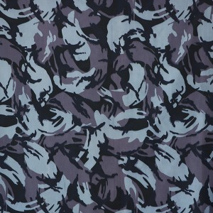 80 cotton 20 polyester twill ocean camouflage fabric