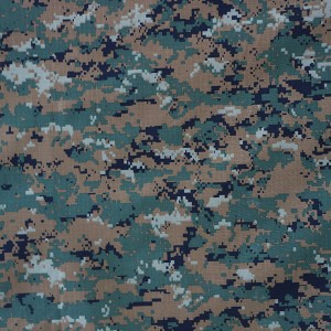 China supplier nylon fabric digital printing camouflage fabric