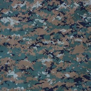 Nylon cotton military fabric