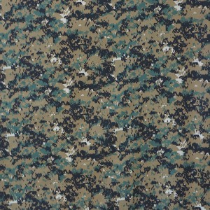 65 polyester 35 cotton twill digital printing camouflage fabric