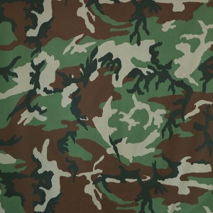 Wholesale printing twill miltary camouflage fabric