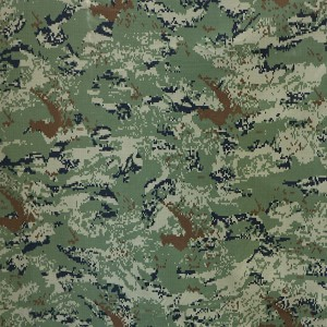 Polyamide cotton digital infrared reflective camouflage fabric