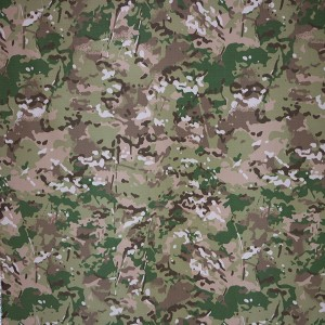 Ripstop Multicam printing camouflage fabric