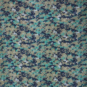 China supplier digital military camouflage fabric