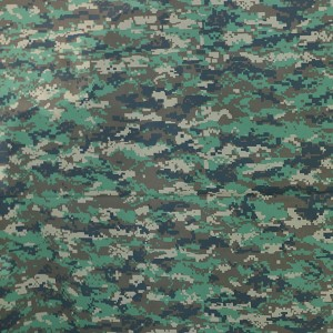 Twill military uniform for digital camouflage printing