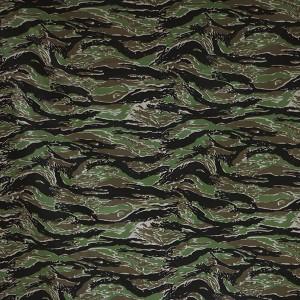 Tigerstripe camo fabric