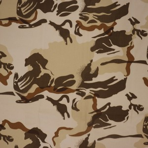 China camouflage print fabric factory for ripstop fabric