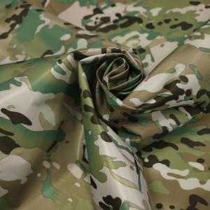 100%Polyester Waterproof Multicam Fabric