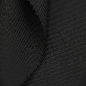 Wholesale black Police uniform fabric