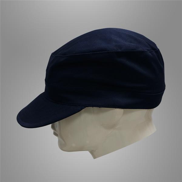 Dark navy blue security guard cap Featured Image