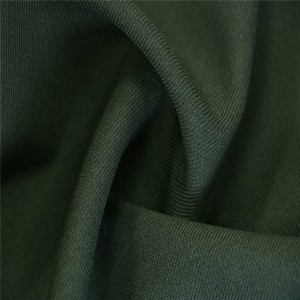 50%Wool 50%Polyester Serge Green army officer uniform fabric