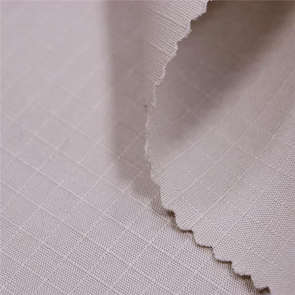 Khaki cotton rip stop fabric Featured Image