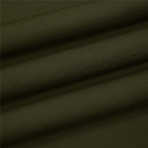 Olive green military army ripstop fabric
