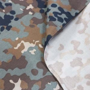 Germany desert Flecktarn camouflage fabric
