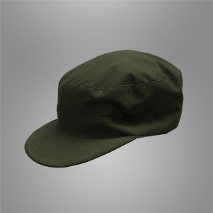 olive green army soldier cap