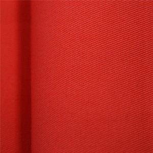 Orange color security guard drill fabric