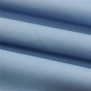 Fashion polyester cotton poplin fabric for shirt with different colours in stock