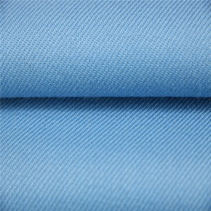 40%Wool 60%Polyester light blue shirting fabric for police uniform