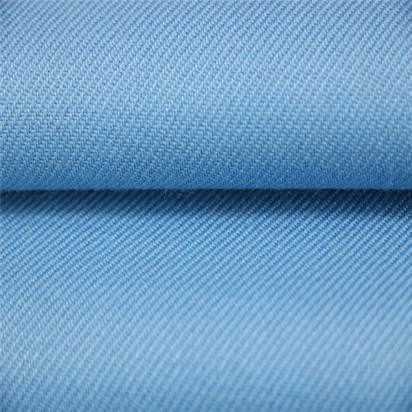 40%Wool 60%Polyester light blue shirting fabric for police uniform Featured Image