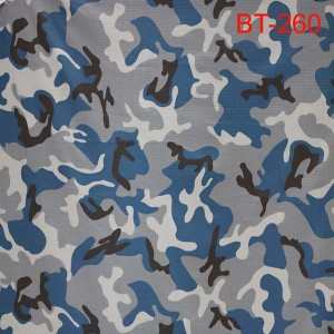 Blue camouflage lamba for Nepal polisy