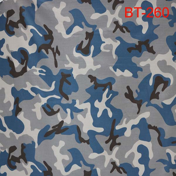 Blue camouflage fabric for Nepal police Featured Image