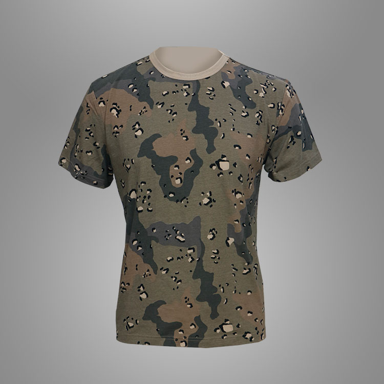 Military camo T-shirt Featured Image