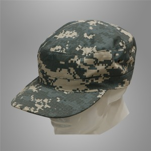 Digital camo army combat cap